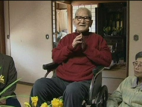 World s oldest man celebrates his 115th birthday