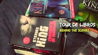 Behind The Scenes: TOUR DE LIBROS