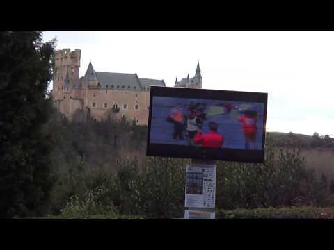 Media Maratón de Segovia 2015. Presentación en El Parral 26/3/215