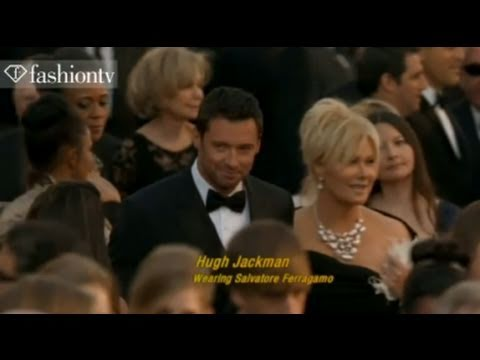 Justin Timberlake, Hugh Jackman, Jeff Bridges @ Oscars Red Carpet 2011 | FashionTV - FTV.com
