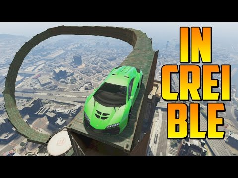 INCREÍBLE!! ACROBACIA IMPRESIONANTE!! - Gameplay GTA 5 Online Funny Moments