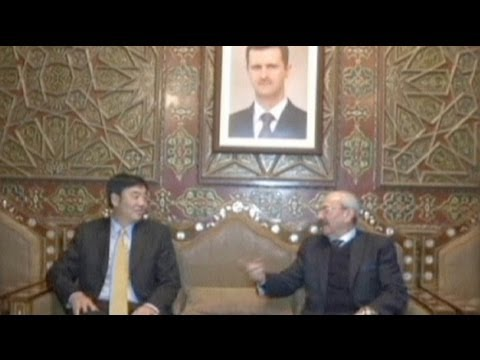 China sends envoy to Syria in new diplomacy drive