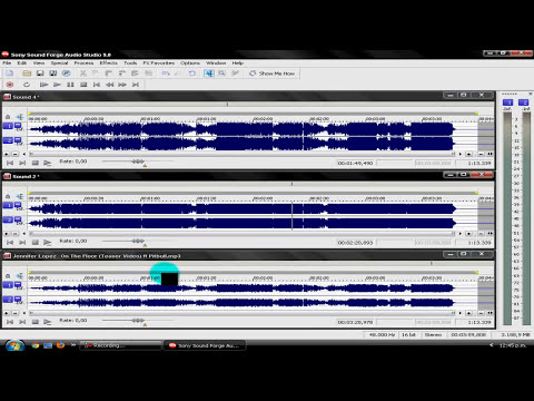Tutorial Sound Forge 9.0: ¿Como masterizar una canción?