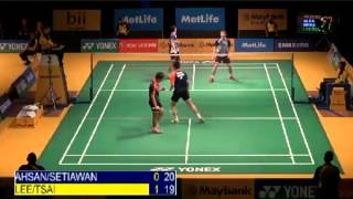 R16 - MD - LEE S.M./TSAI C.H. vs M.AHSAN/H.SETIAWAN - 2014 Malaysia Badminton Open (Part of G2&3)