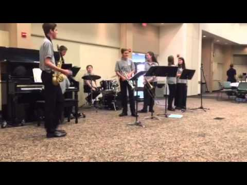 Arden Middle School combo Regular Squared at 2015 TOY dinner Tin Roof Blues
