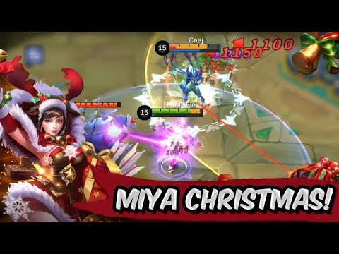 MERRY CHRISTMAS! BEST SKIN MIYA CHRISTMAS CHEER! - MOBILE LEGENDS