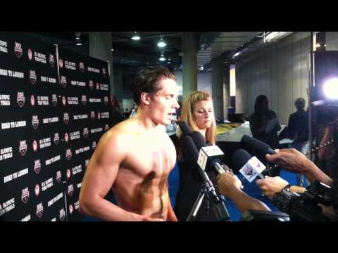 Eric Shanteau - 100 Breast Runner-Up - 2012 Olympic Trials