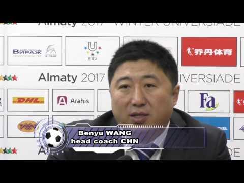 Видео с игры по хоккею (мужчины) Казахстан-Китай