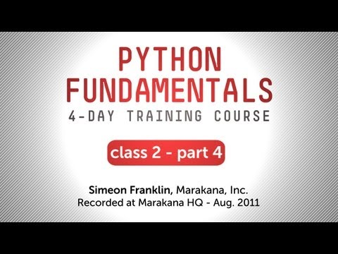 Python Fundamentals Training - doctest