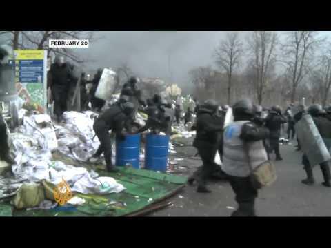 Ukraine looks into protest killings