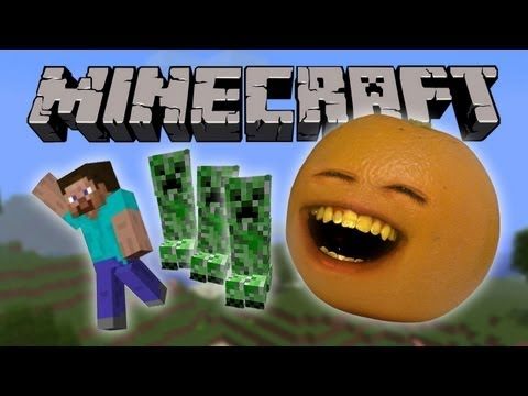 Annoying Orange - Annoying Orange Vs. Minecraft