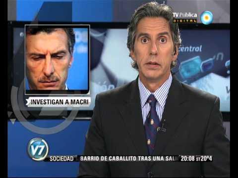 Visión 7: Aborto no punible: Investigan a Mauricio Macri