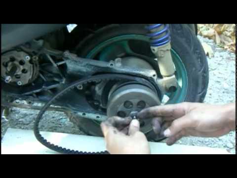 Мотороллер ремонт своими руками