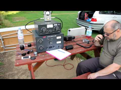 M0TAZ/P working 80m in the field