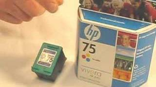 HP 75 Ink Cartridge Information (HP75 inkjet)