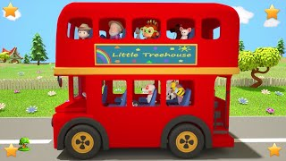 Kindergarten Nursery Rhymes for Toddlers | Cartoons for Children | Kids Songs by Little Treehouse