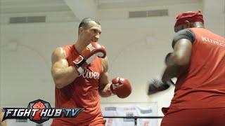 Wladimir Klitschko vs. Bryant Jennings full video- Klitschko complete media workout