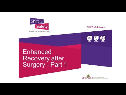 Enhanced Recovery After Surgery - Part 1