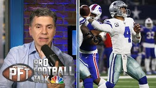 NFC Playoff Picture: Dallas Cowboys shouldn't panic | Pro Football Talk | NBC Sports