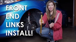 HOW TO INSTALL FRONT SWAYBAR END LINKS!