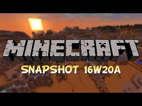 Minecraft 1.10 - Snapshot 16w20a [ITA] - ORSI POLARI, NUOVI MOB, NUOVI BLOCCHI E MOLTO ALTRO
