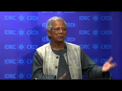 Muhammad Yunus: Microcredit and social business for a poverty-free world