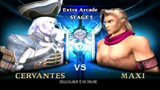 Soul Calibur 2 - Cervantes arcade mode