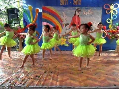 TRƯỜNG MẦM NON BAN MAI KHAI GIẢNG NĂM HỌC 2011-CÙNG NHẢY NÀO CÁC BẠN ƠI ^^