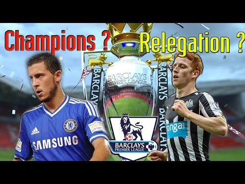 English Premier League Winners? Relegated?