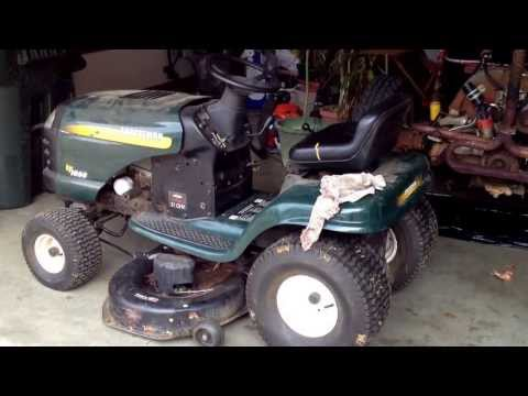 craftsman lawn mower blade replacement instructions