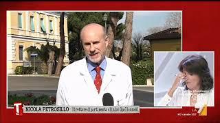 Coronavirus, il prof. Nicola Petrosillo spiega le lastre dei due primi pazienti cinesi ...