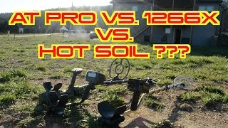 A Day in the Life # 157 Metal Detecting: Garrett AT Pro vs. Hot Soil vs. Fisher 1266x.