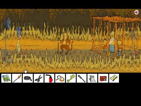 Solución Marge Simpson Saw Game Solucion de InkaGames [ Español/Spanish ] #1 Completar