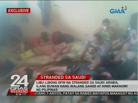 Libu-libong OFW na stranded sa Saudi Arabia, ilang buwan nang walang sahod at hindi makauwi ng bansa