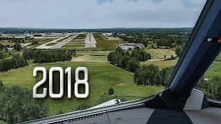 New Flight Simulator 2018 in 4K | Spectacular Approach and Landing in London [Ultra Realism]