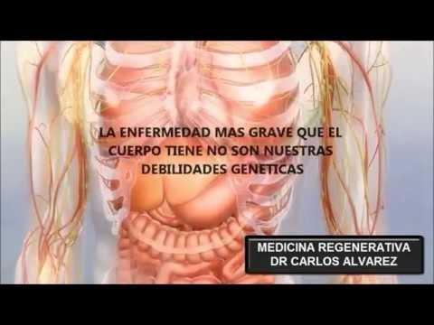 MEDICINA REGENERATIVA DR CARLOS ALVAREZ SANAR TODA ENFERMEDAD