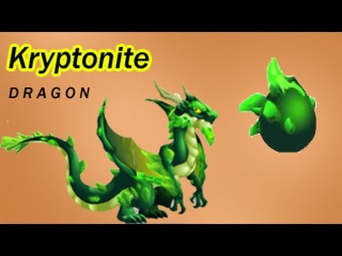 How To Get Kryptonite Dragon In Black Market In Dragon City