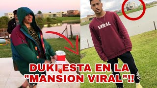 *ultimo momento*DUKI ESTA EN LA MANSION VIRAL (PRUEBAS)- detective viral.