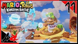 Mario + Rabbids Kingdom Battle - Ep11 - Blizzy & Sandy Boss Battle