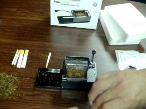 Roll Your Own Cigarettes With A Powermatic 2 Electric Cigarette Rolling Machine [How it works]