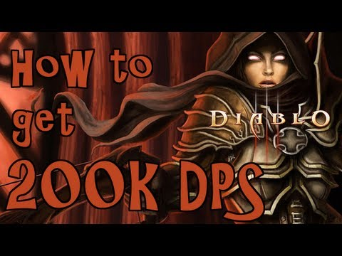 How to get 200k DPS on your Demon Hunter! - Diablo III