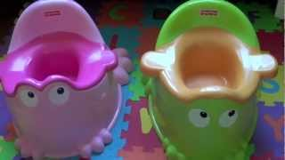 REVIEW:Fisher- Price Precious Planet  Froggy Friend Potty Review and Comparison