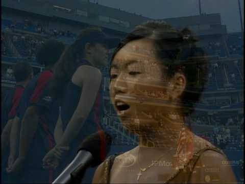 Vania King Sings at US Open Video
