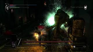 Demon's Souls - Maneater boss fight - NO HITS, DAGGER ONLY