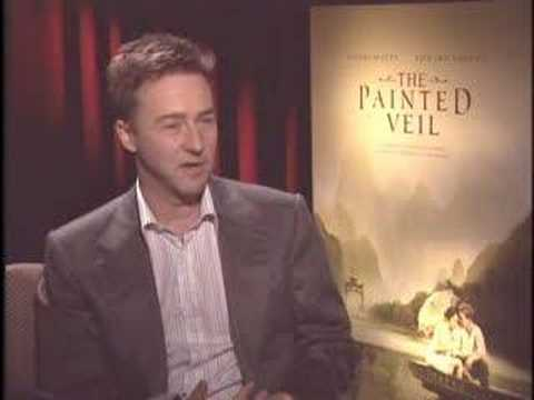 Edward Norton Interview - The Painted Veil