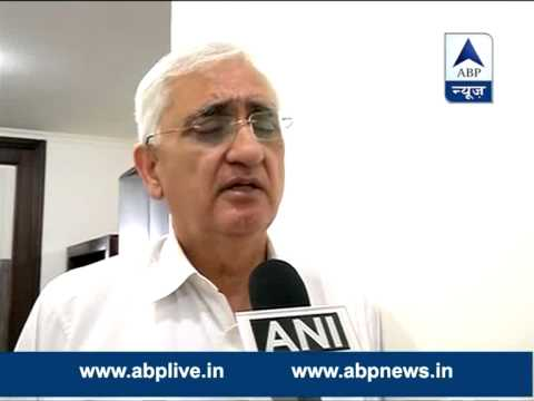 BJP should apologise: Salman Khurshid on black money