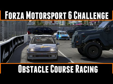 Forza Motorsport 6 Challenge Obstacle Course Racing