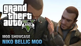 GTA 5 PC - Niko Bellic Mod [Mod Showcase]