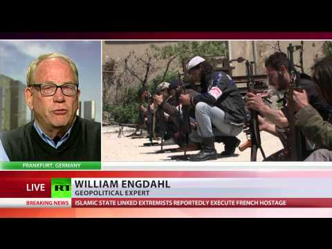 'ISIS is CIA false flag op, pretext for war inside Syria & Iraq'