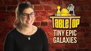 TableTop: Wil Wheaton Plays TINY EPIC GALAXIES  w/ Mayim Bialik, Tim Schafer, & Andy Weir!